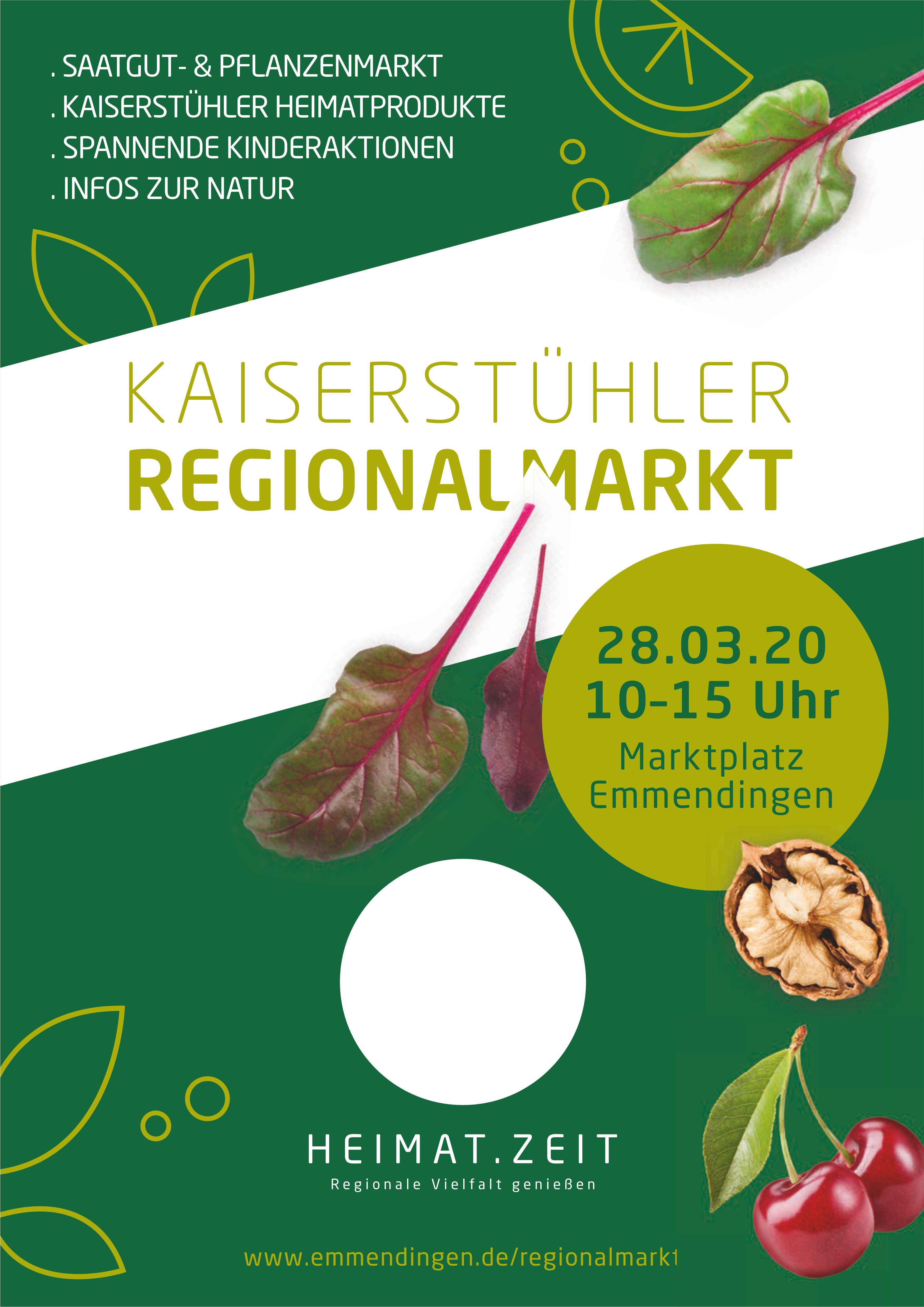 Regionalmarkt Emmendingen -abgesagt-