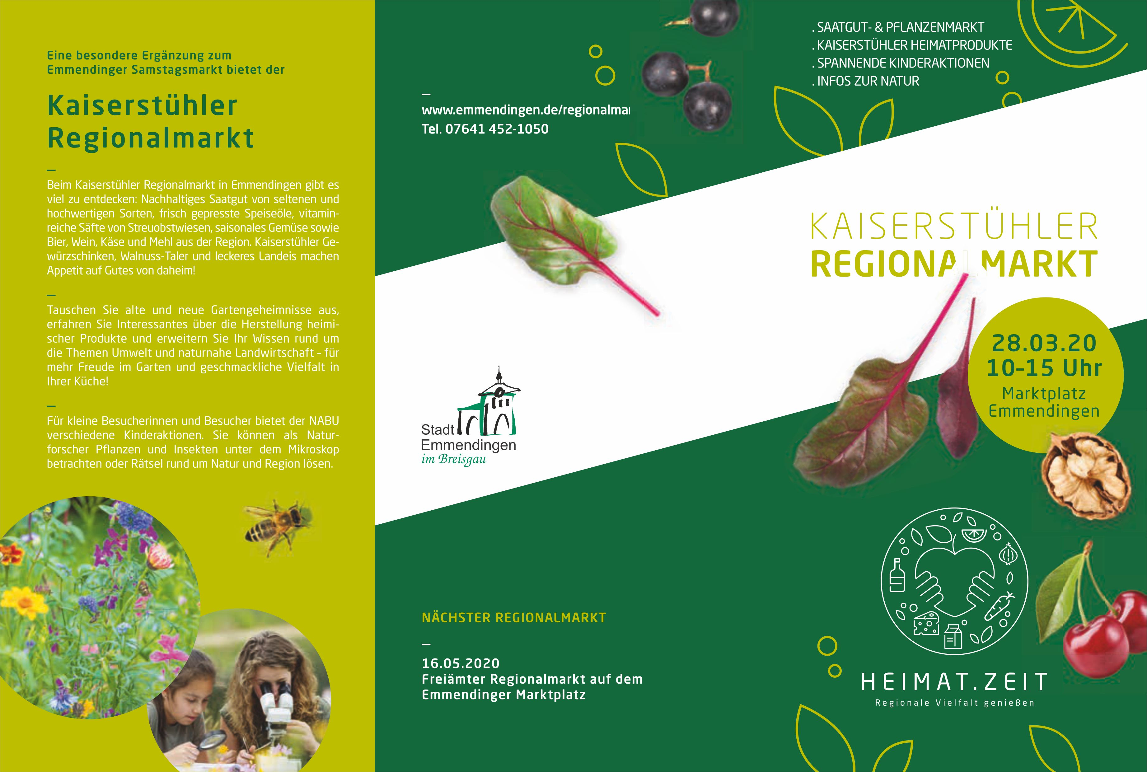 Flyer-Regionalmarkt