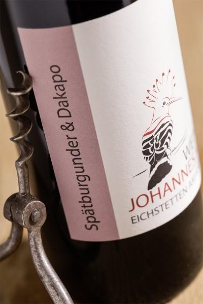 Spätburgunder und Dakapo 2015 Rotwein trocken 500ml